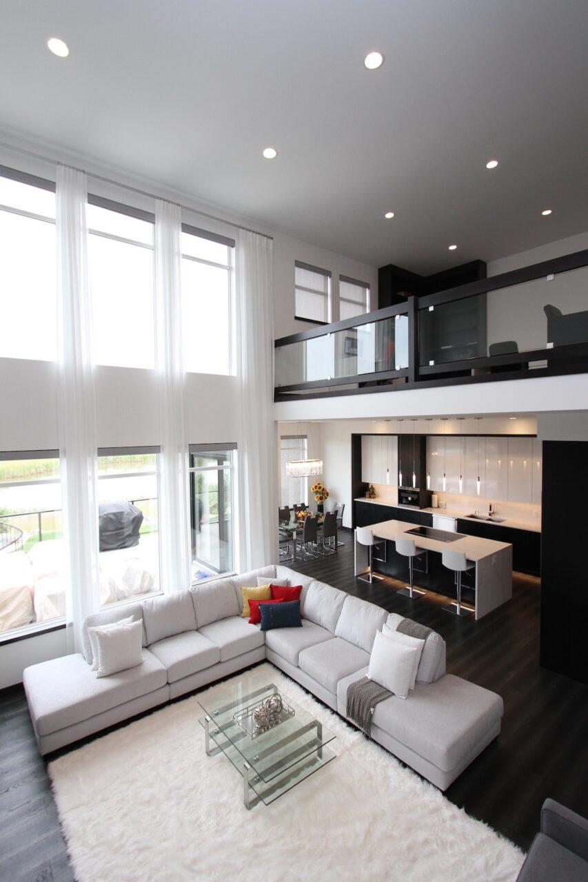 custom living room renovation